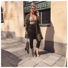 """MADELEINE BITICI  on Instagram: """"Camoed out in @hotmiamistyles joggers """""""