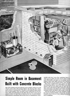 1961 Fallout Shelter (Anyone trying to light up a cigarette in MY shelter is getting thrown out to the Zombies!)