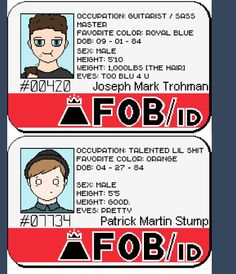 (More) FOB IDs