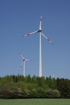 Windmills for energy generation - perhaps the future? After Fukushima Germany is at least more on green energy.