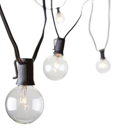 Look at this Black 25' Party String Lights on #zulily today!