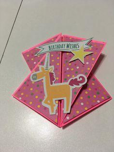 Pearl's birthday card, little dreamer, CTMH