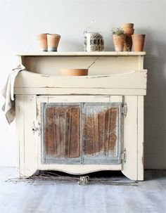 Vintage Dry Sink Cabinet by lovintagefinds on Etsy