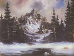 Bob Ross Paintings, Bob Ross Art Gallery, Bob Ross Artwork, Pictures