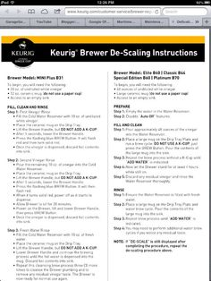 How to Descale a Keurig