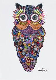 #owl #art