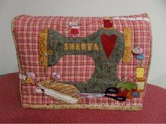 Cute sewing machine cover