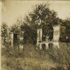 Pakenham Plantation ruins in St. Bernard Parish :: Louisiana Works Progress Administration (WPA)