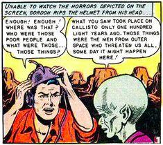 Light-years: Now a unit of time. SOURCE: Pappy's Golden Age Comics Blogzine