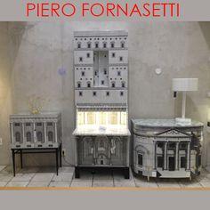 Móveis do designer Piero Fornasetti exclusivos na Marché com descontos especiais!