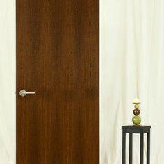 StileLine®   A MIDRANGE Modernist Flush Interior Door   Modern   Bathroom    Other Metro   Lynden Door   StileLine   Pocket Door   Side Hinged Door ...