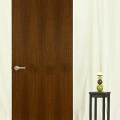 Stileline rift white oak with a gray tone stain interior for Natural wood doors interior