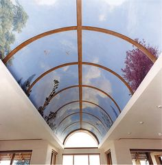 Private House in Esher, Surrey. Trompe L'oiel ceiling. Acrylic on canvas