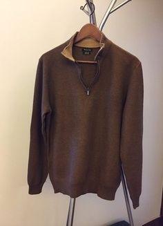 Kup mój przedmiot na #vintedpl http://www.vinted.pl/odziez-meska/zapinane-swetry-kardigany/16858567-brazowy-sweter-z-massimo-dutti