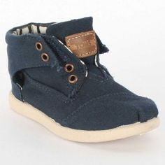 Amazon.com: Toms - Tiny Navy Canvas Botas Kids Shoes: Shoes | GOING CRAZY WITH THE BABY BOY SHOE PINS!!