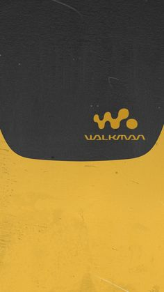 Walkman yellow