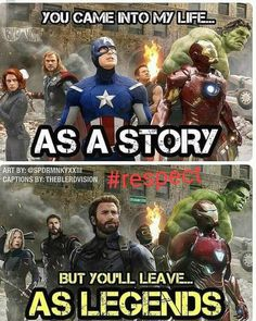 The avengers are more than a story. They are legen… – – James The avengers are more than a story. They are legen… – The avengers are more than a story. They are legen… – Marvel Dc Comics, Marvel Avengers, Captain Marvel, Marvel Films, Bd Comics, Marvel Heroes, Avengers Story, Baby Avengers, Avengers Humor