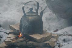 Camp fire coffee or tea is always sweeter.