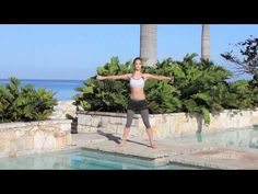 This one is a killer! The Essentrics Arm Toning Mini Workout by The Esmonde Technique. It is weight - free! BINGO! Good Posture, Improve Posture, Miranda Esmonde White, Pilates, Posture Exercises, Stretches, Routine, Dynamic Stretching, Aging Backwards