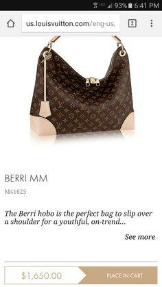ed72d92f804e Definitely on my WANT list. Jessica Robbins · Louis Vuitton