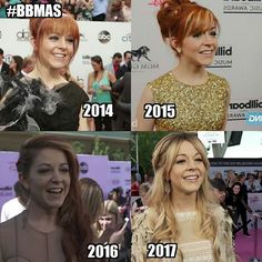"""613 Likes, 9 Comments - LindseyMemeMaster (@lindseymememaster) on Instagram: """"Yeeey,made this years edit of the Lindsey BBMAs evolution  Hope to see Her in 2018 again …"""""""