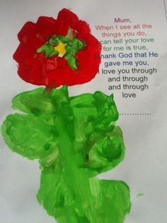Mothers Day Poem from PPP at St Nicolas