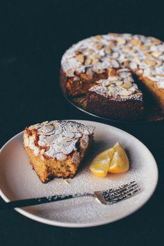 Meyer Lemon Almond Cake by scalingback: Healthy enough to eat for breakfast.  #Cake #Lemon #Almond #GF