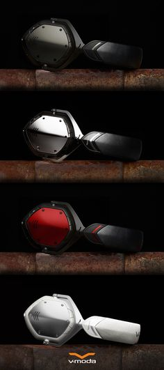 The colors of Bluetooth. Crossfade Wireless, available at V-MODA.com