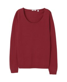 Like the #scoopneck on this #cashmere #sweater , not as sure about the boxy shape.