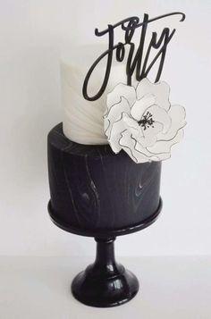 Black And White by Design Moi Un Cake