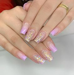 The 45 pretty nail art designs that perfect for spring looks 23 Purple Acrylic Nails, Summer Acrylic Nails, Best Acrylic Nails, Acrylic Nail Art, Gel Nail Art, Nail Nail, Colorful Nail Designs, Nail Art Designs, Colourful Nail