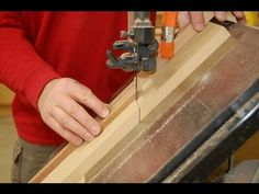 Cross Cut Sled Methods - Band Saw How to - Designs in Wood Inlay Banding