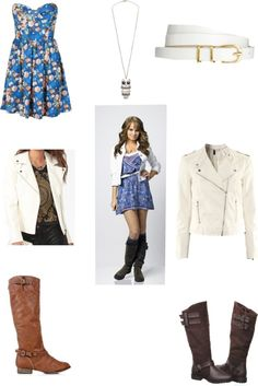 """Debby Ryan Style"" by maddieagne ❤ liked on Polyvore"