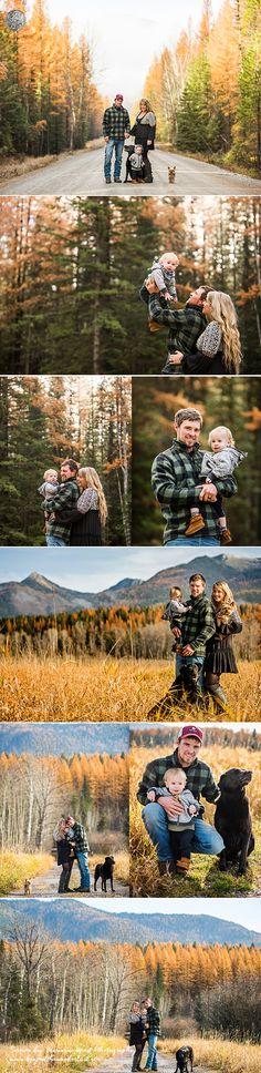 BEAUTIFUL FALL family pictures. What to wear for a family of 3 for fall pictures. AUTUMN COLORS