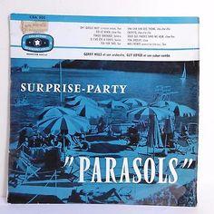 33T 25cm SURPRISE PARTY PARASOLS Vinyle Gerry MILLS Guy BOYER Orchestres BARCLAY | eBay