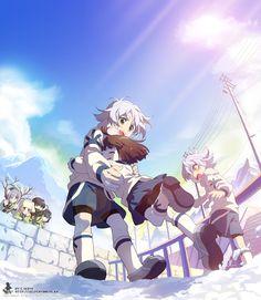 Tags: Inazuma Eleven, Level-5, Fubuki Shirou, Fubuki Atsuya, C.Seryl, Fubuki Twins, Araya Konko, Matoro Jyuka, Hyoujyou Retsuto, Sorano Rebun, Kitami Ryuu