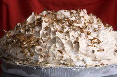 Coconut Mile-High Cream Pie