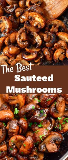 Sautéed Mushrooms - Easy, Rich, and Flavorful Side Dish For Your Steaks