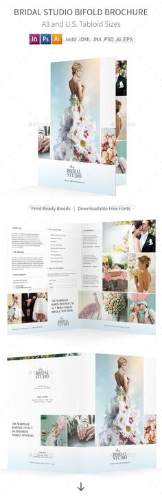 Bifold Business Brochure Vol03 Template Brochure Template And