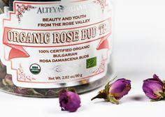 Herbata z pąków róży i różany krem do rąk Alteya Organics | Nez de Luxe — blog i opinie o perfumach