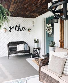 The best Etsy home decor shops to find modern farmhouse signs, laser cut words, and beautiful handmade pillows and throws.
