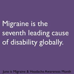 Migraine & Headache Awareness Month 2013 infographic Most headaches can be treated effectively with Migraine Pain, Chronic Migraines, Migraine Relief, Chronic Pain, Fibromyalgia, Chronic Illness, Migraine Diet, Cluster Headaches Relief, Complex Migraine