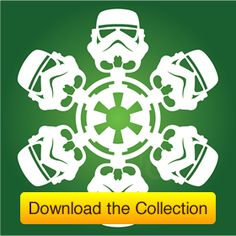 Free Download: DIY Star Wars Snowflakes - Free Homeschool Deals ©