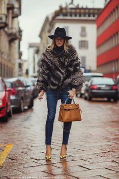 Carlotta Oddi, the assistant of stylist and Vogue Japan editor Anna Dello Russo