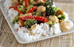 Sesame Chicken Stir-Fry