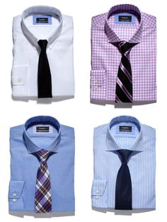 A guide to shirts and ties