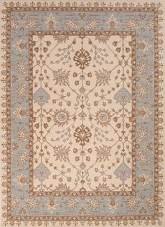 Orient Ogden Flint Gray/Ashley Blue Area Rug