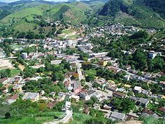 Vista do Centro de Mimoso do Sul, ES