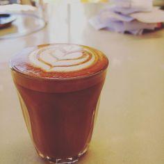 This is how we Picollo  #piccololatte #coffee #eat3280 #warrnamboolcoffee #warrnambool #roughdiamond by rough_diamond_coffee