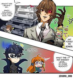 Persona Five, Persona 5 Memes, Goro Akechi, Shin Megami Tensei Persona, Plot Twist, Light Of My Life, Jojo Bizzare Adventure, Manga Comics, Otaku Anime